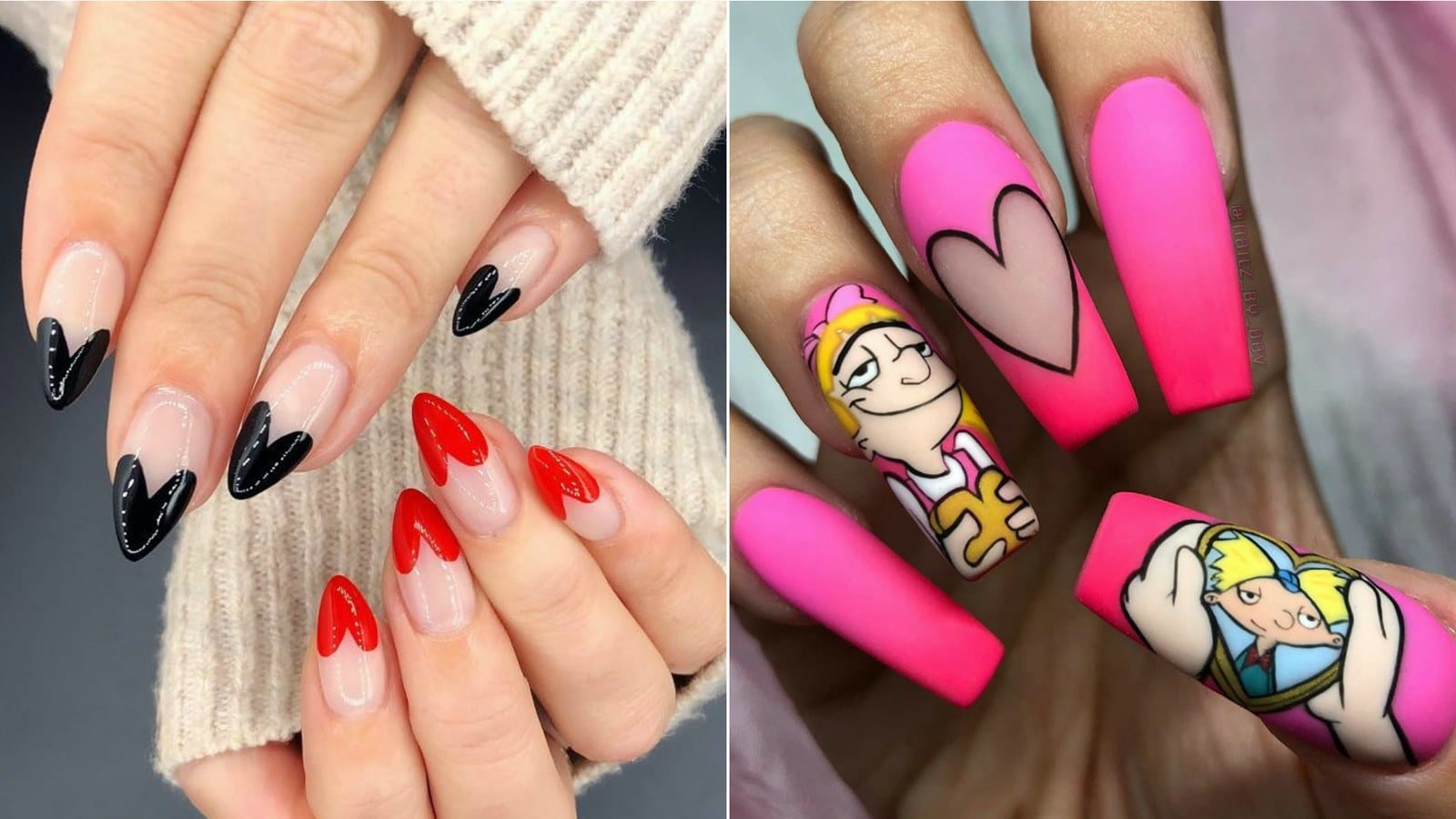 13-pretty-valentines-day-nail-art-designs-1